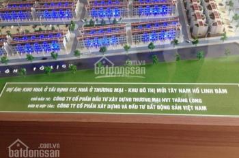 Bán lô đất liền kề DA Tây Nam Linh Đàm, 0947.757,495, DT 90m2, 43 triệu/m2