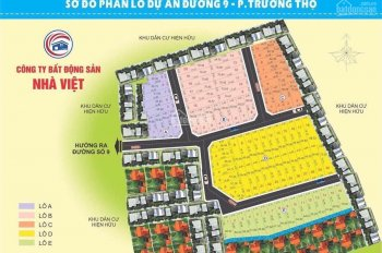 Kẹt tiền Bán Gấp Đất góc 2 Mặt tiền hẻm Đường số 9, Trường Thọ, SHR 56.7m2, giá 4 tỷ
