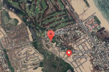 Lô đất có sổ đỏ Ngọc Dương Riverside có sổ đỏ đối diện trường, ngang 5m5. LH: 0935024000
