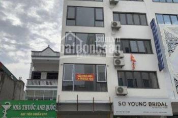 Cho thuê nhà mặt phố Mễ Trì Thượng, DT 60m2 x 7 tầng, MT 4m, thông sàn, thang máy, giá 38 tr/th