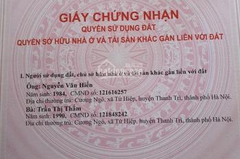 Bán nhà chính chủ ngõ 21 Tựu Liệt, giáp Linh Đàm, gần bến xe Nước Ngầm, 45m2x 4 tầng giá 2 tỷ 350