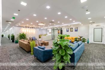 Cho thuê văn phòng trọn gói DT: 10 - 15 - 20 - 30 - 50 - 100m2 khu vực Hoàng Đạo Thúy- Lê Văn Lương