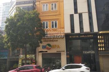 Nhà mặt phố Mạc Thái Tổ. Diện tích 50m2 x 6 tầng xây thông suốt, gần ngã 4 phố Trung Kính