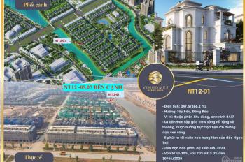 Chính chủ bán biệt thự song lập NT12 - 07 giá gốc 10,7 tỷ. LH: 0965660555