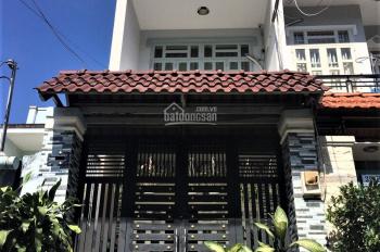 Bán nhà mặt tiền 60,6m2 xây 3 tấm 4 PN, sân để xe hơi, sổ hồng riêng đường Lưu Hữu Phước P15 Q8