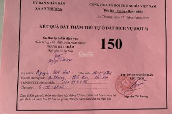 Bán đất dịch vụ xã An Thượng Hoài Đức Hà Nội bắt thăm đợt 2, diện tích 50m2 - 100m2 giá rẻ