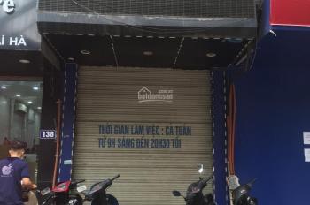Cho thuê nhà mặt phố Thái Hà DT 50m2 x 5T, mặt tiền 3,8m liên hệ 0965836488