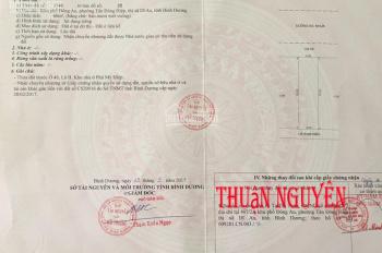 Cần bán lô B64, đường N3, khu dân cư Phú Mỹ Hiệp, thị xã Dĩ An, giá 1.9 tỷ