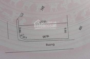 Bán 2 lô góc siêu đẹp ở Mễ Sở, Văn Giang, giáp Ecopark Hưng Yên. 0385.626.846