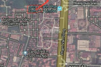 Bán 2756m2 đất xây tòa VP 21 tầng mặt phố Hoàng Quốc Việt - Cầu Giấy, lô góc 2 mặt đường, 165 tỷ