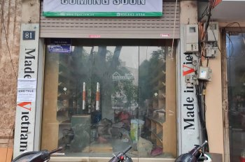 Nhà mặt phố 81 Lê Hồng Phong cho thuê mặt bằng tầng 1