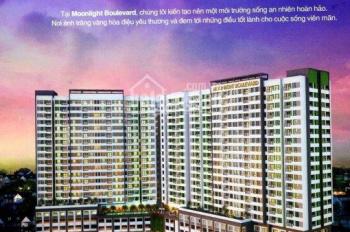 Cho thuê CH Moonlight Boulevard quận Bình Tân giá 6tr/th view đẹp HĐ 1 năm - 2 năm, LH 0968364060
