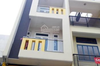 Cho thuê căn nhà mới xây mặt tiền, đường Số 14 Quang Trung, P8 thông ra Cây Trâm 3 lầu