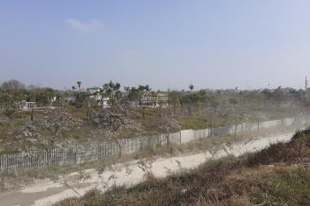 Chính chủ bán đất khu F gần cầu, mặt sông 1300m2 giá thỏa thuận, LH A Lộc 0842.195.599