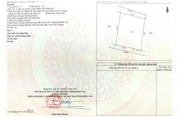 Bán nhà đất + 35 phòng trọ. DT: 960m2 đất ở 100% - đường bê tông 4m, gần KCN Long Thành