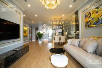 Cho thuê gấp căn hộ chung cư Vinhomes D'Capitale căn góc 3PN sáng, đủ nội thất cao cấp. Giá 20tr/th