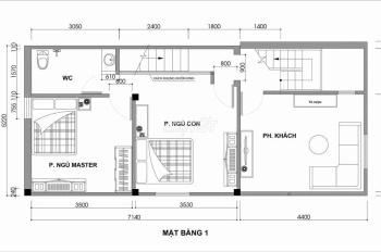 Cho thuê căn hộ 3 phòng, 2 tầng full đồ ở Đống Đa