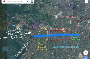Bán đất mặt đường lớn đường Bắc Sơn kéo dài, giá 17 triệu/m2