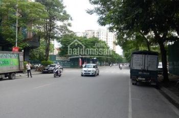 Bán nhà mặt phố Vũ Phạm Hàm DT 150m2 x 6,5 tầng. MT 5,5m đường rộng 45m. Giá 43 tỷ