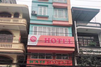 Bán nhà 7 tầng mặt đường Hạ Long, 19 phòng kinh doanh khách sạn, mặt tiền rộng rãi