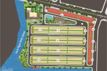 Tôi cần bán nhanh nền A6 hướng Nam DT 95m2 xây được 1 trệt 2 lầu, áp mái giá 2,35 tỷ LH 0938940 890