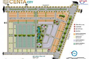 Sắp ra mắt Centa City - Vsip Từ Sơn - Bắc Ninh giai đoạn 2 LH 0966391917