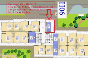 Sở hữu lô shop chân đế KD ngay mặt sảnh tòa S1.06 VH Smart City chỉ với hơn 3 tỷ, LH: 097.1996.199