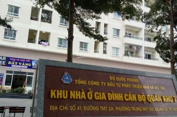 Nhượng lại căn hộ CC QK7, Q12, vị trí đắc địa! DT 65m2 giá 1.45 tỷ bao phí, 2PN 2WC, LH 0901408996