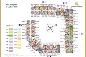 Cho thuê chung cư Vin Hope Residence Long Biên, HN 69,5m2 nội thất cơ bản 5.5 tr/th. LH 0337556742