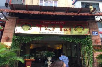 Cho thuê nhà mặt phố 52 Nguyễn Chí Thanh Cầu Giấy, DT 130m2 x 8T, MT 6m, có thang máy