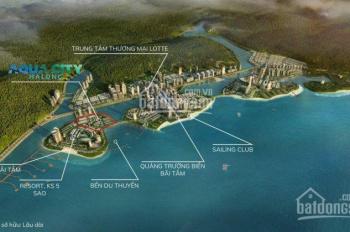 Suất ngoại giao căn siêu đẹp dự án Aqua City Hạ Long, HTLS 0%/2 năm, xây 6 tầng, đất chỉ 48 tr/m2