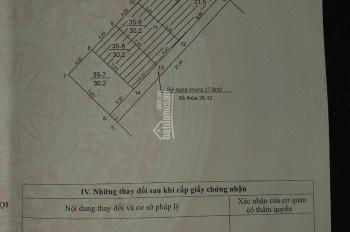Chính chủ cần bán thửa đất thuộc xã Tân Triều, Thanh Trì, Hà Nội