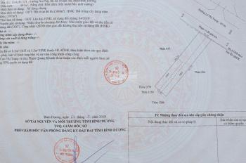 Bán lô đất mặt tiền Lê Thị Trung 10x50m có 300m2 thổ cư giá đầu tư