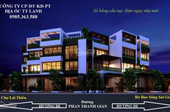 Bán nhà 1 trệt 2 lầu mặt tiền Phan Thanh Gian trung tâm Lái Thiêu, Thuận An
