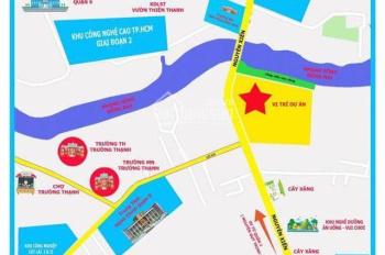 Cần bán đất nền MT Nguyễn Xiển, liền kề Vincity, DA Happy Riverside, giá từ 20tr/m2 SHR 0707727727