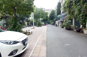Bán biệt thự phố Trần Thái Tông gần công viên Cầu Giấy. DT 150m2 x 4T, MT 10m đường và hè rộng