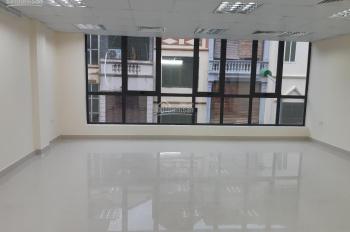 Cho thuê cửa hàng 3 tầng dưới đường Hoàng Quốc Việt DT 90m2, MT 5m, thông sàn, lối đi riêng