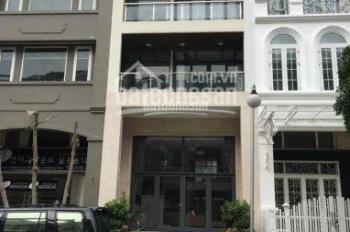 Cho thuê nhà phố mặt tiền Phạm Thái Bường Phú Mỹ Hưng Quận 7, DT 6x18.5m, phù hợp nhiều ngành nghề