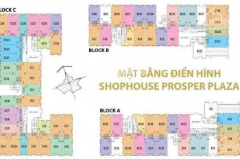 Bán shophouse Prosper Plaza quận 12, giá CDT, 0961 881 656