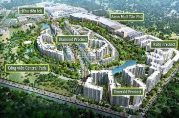 Căn hộ Diamond Alanata Plus khu đô thị Celadon City liền kề Aeon Mall Tân Phú, LH: 0937118336
