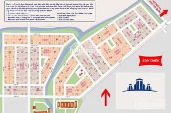 Cần bán gấp lô đất nền KDC Vĩnh Phú 1, LK BV Hạnh Phúc, Bình Dương, giá 9tr-18tr/m2, 0707727727