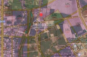 Bán đất mặt tiền Lê Duẩn tại trung tâm thị trấn Chơn Thành, Bình Phước