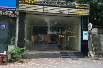 Chính chủ cho thuê nhà mặt phố Yên Lãng, Đống Đa vị trí đẹp, giá cực sốc. LH 0989427481