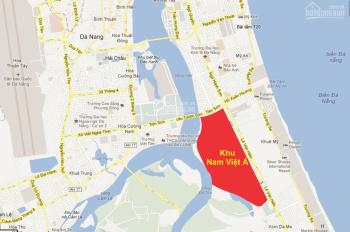Bán lô góc biệt thư 2 đường 10m5 sổ đỏ chính chủ khu Nam Việt Á, quận Ngũ Hành Sơn
