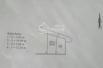 Cần bán gấp lô đất tổ 8 Thạch Bàn, giá rẻ nhất thị trường ngõ 2,5 mét