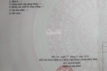 Cần bán gấp lô đất ngay KCN Phú Hưng TP Bến Tre DT: 468m2 giá 560tr. ĐT: 0796.679.678 Mr Nghiệp