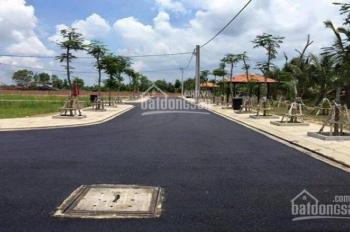Bán 2 lô đất MT chợ Đại Phước, Nhơn Trạch, 550tr/nền DT 90m2, SHR thổ cư 100%, LH 0889758528