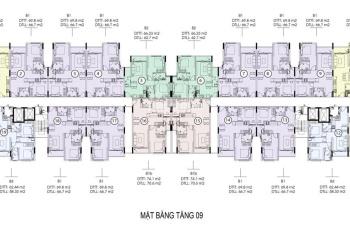 Cần tiền bán gấp căn hộ SG Skyview mặt tiền Tạ Quang Bửu, ngay bến xe quận 8. Lầu 17, DT 69m2