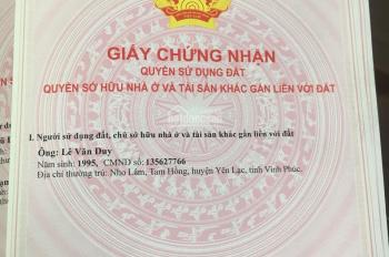 Duy nhất 2 lô Tân Xã đẹp giáp với khu CNC Hòa Lạc, đã có sổ đỏ, giá chỉ từ 800tr. LH 0946662328