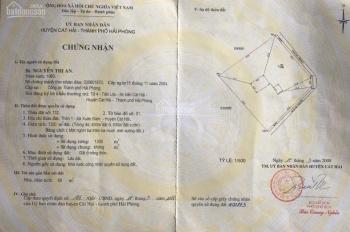 Chính chủ cắt bán 400m2 - 450m2/tổng 1330m2 tại Xuân Đám, Cát Bà, Hải Phòng. Giá 24 tr/1m2